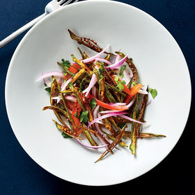 Food & Wine: Crispy Okra Salad