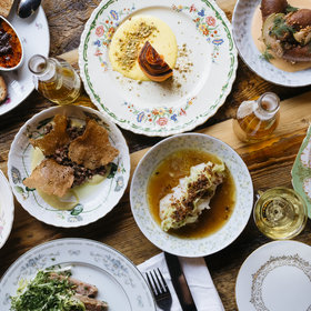mkgalleryamp; Wine: Old, Dusty Dinnerware Finds New Life at Detroit's Lady of the House