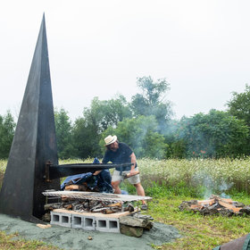 Food & Wine: Hudson Valley Artist Builds Incredible Sculptures for Cooking Over Live Fire