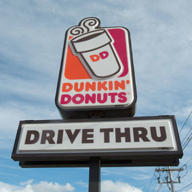 mkgalleryamp; Wine: This Dunkin' Donuts Location's Hack to Fix a Broken Drive-Thru Speaker Is Genius
