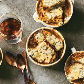 Food & Wine: Caramelized Onion and Bread Soup