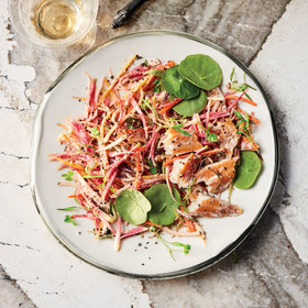 mkgalleryamp; Wine: Roots Rémoulade with Smoked Trout