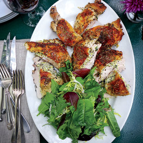 mkgalleryamp; Wine: Zucchini-and-Herb-Stuffed Chicken