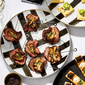 mkgalleryamp; Wine: Peppered Beef and Hen-of-the-Woods Bundles