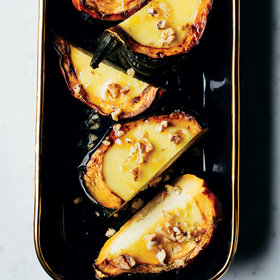Food & Wine: Acorn Squash with Coconut Custard
