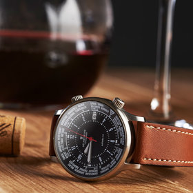 Food & Wine: This Watch Tells You Exactly How Long to Decant Wine