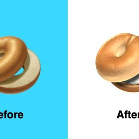 mkgalleryamp; Wine: Apple Realizes the Error of Its Ways, Gives Us the Bagel Emoji We Deserve