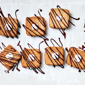 Food & Wine: S'mores Linzer Cookies