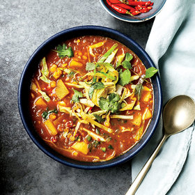 Food & Wine: Burmese Samusa Soup