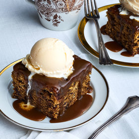 mkgalleryamp; Wine: Sticky Toffee and Earl Grey Pudding