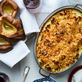 mkgalleryamp; Wine: Three-Cheese Cauliflower Gratin