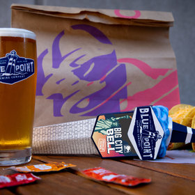 mkgalleryamp; Wine: Exclusive Taco Bell Beer on Tap for New York City