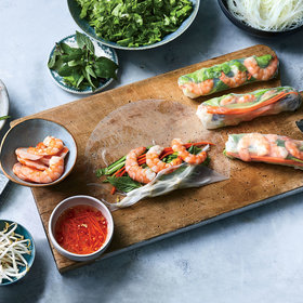 mkgalleryamp; Wine: How to Make Perfect Rice Paper Rolls at Home