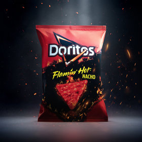 mkgalleryamp; Wine: Doritos Unleashes Flamin' Hot Flavor on Its Nacho Chips
