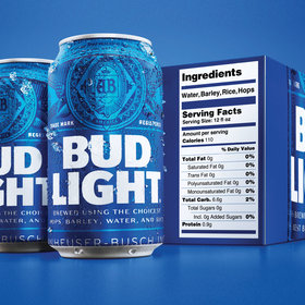 mkgalleryamp; Wine: Bud Light Adds Ingredients and Serving Facts to ItsPackaging