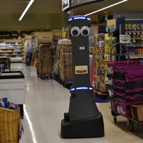 mkgalleryamp; Wine: Supermarket Chain Enlists Googly-Eyed Robots to Clean Up Spills