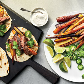 mkgalleryamp; Wine: Steak-and-Carrot Tacos