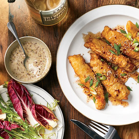Food & Wine: Fried Rabbit with Fish Pepper Hot Honey