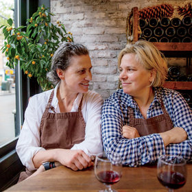 Food & Wine: How Rita Sodi and Jody Williams Created Some of New York's Most Beloved Dining Spaces