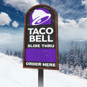 mkgalleryamp; Wine: Taco Bell to Open the 'World's First Slide-Thru Take-Out Window'