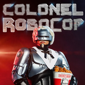 mkgalleryamp; Wine: KFC Hires RoboCop as Colonel Sanders, Doubles Down on Secret Recipe Security
