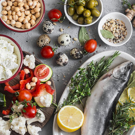 Food & Wine: How to Meal Prep Mediterranean Diet Lunches In 3 Easy Steps