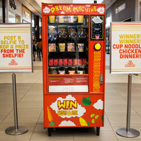 mkgalleryamp; Wine: You Can Buy Cup Noodles From a Vending Machine, Using Instagram as Currency
