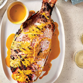 Food & Wine: Grilled Snapper in Coconut Sauce