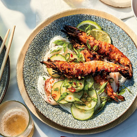 Food & Wine: Chile-Glazed Shrimp with