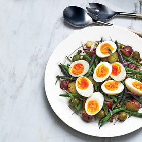 Food & Wine: Wax Bean Salad with Potatoes, Capers, and Eggs