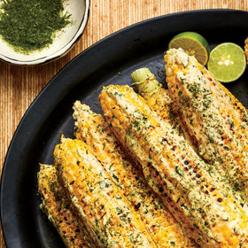 Food & Wine: Grilled Corn on the Cob with Calamansi Mayo