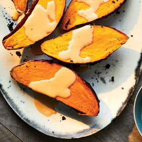 Food & Wine: Ember-Roasted Sweet Potatoes with Coconut Caramel