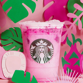 mkgalleryamp; Wine: Starbucks Drops a Pink 'Dragon Drink' Just in Time for Summer