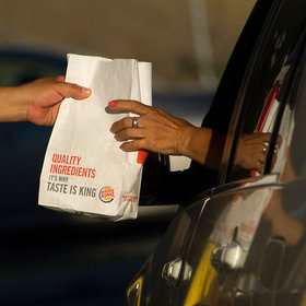 mkgalleryamp; Wine: Burger King Wants to Deliver to Cars Stuck in L.A. Traffic