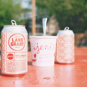 mkgalleryamp; Wine: Jeni's Splendid Collaborated on a Berry-Infused Beer Just in Time for Strawberry Season