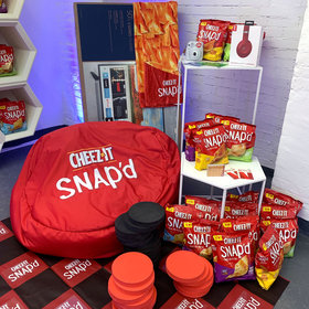 mkgalleryamp; Wine: Take a Peek Inside the Cheez-It Bunker Filled with a Year's Supply of the Brand's Newest Snack