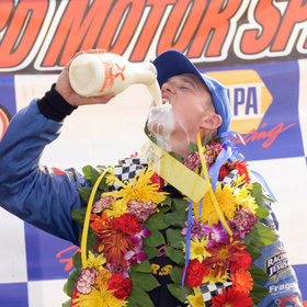 mkgalleryamp; Wine: IndyCar Drivers Revealed Which Kind of Milk They'd Prefer to Drink If They Win the Indy 500