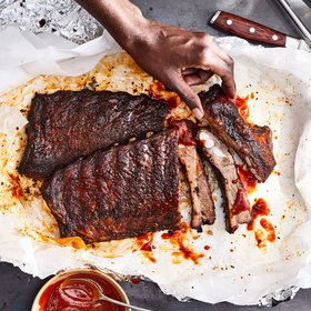 Food & Wine: How to Make Perfect Smoked Pork Ribs