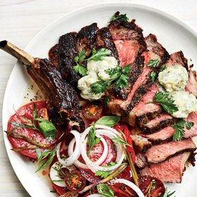Food & Wine: Double-Cut Rib Eye with Sweet Gorgonzola Butter