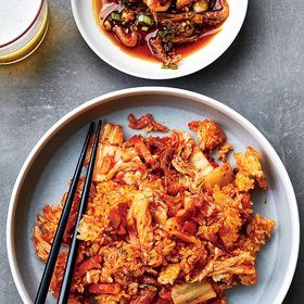 Food & Wine: Kimchi Fried Rice with Spicy Shrimp-and-Sesame Sauce