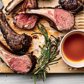 mkgalleryamp; Wine: Lamb Chops with Mango Honey