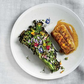 Food & Wine: Grilled Black Cod and Herb Bundles with Elk Spice