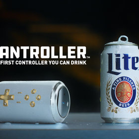 Food & Wine: Miller Lite Has Made a Video Game Controller-Beer Hybrid Called 'The Cantroller'