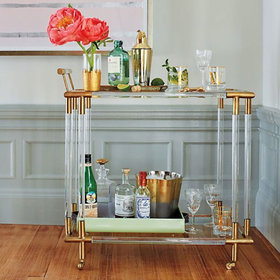 Food & Wine: 10 Bar Carts for the Perfect Cocktail Setup
