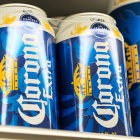 mkgalleryamp; Wine: Corona Unveils Stackable Cans That Can Be Twisted Together
