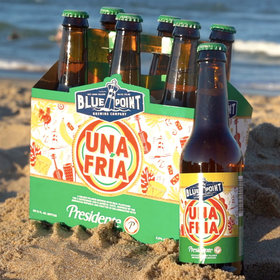 mkgalleryamp; Wine: Blue Point Brewing Collaborated with Presidente on a Plantain-Infused Beer