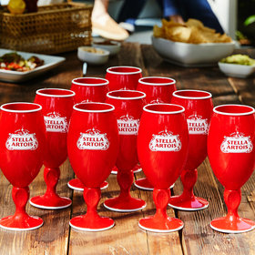 mkgalleryamp; Wine: Stella Artois Created a Red Party Cup Version of Its Classic Chalice
