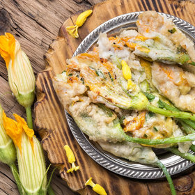 Food & Wine: An Ode to the Zucchini Flower, the Elusive Summer Staple