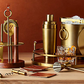 Food & Wine: Frye Just Released a Barware Collection at Crate & Barrel and We'd Like One of Everything
