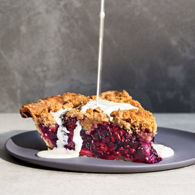Food & Wine: Black-and-Blue Pie with Brown Sugar Crumb